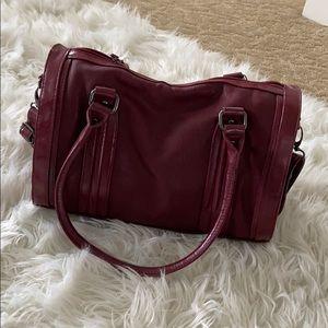 Vintage maroon bag